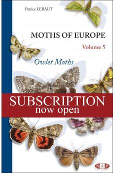 Moths of Europe - Volume 5: Owlet Moths